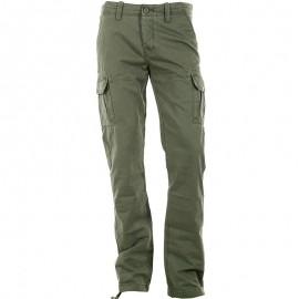 Pantalon Coton SLAM kaki Homme Crossby