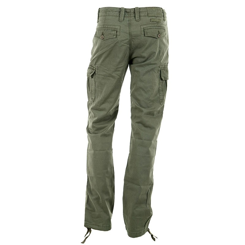 pantalon coton slam kaki homme crossby pantalons. Black Bedroom Furniture Sets. Home Design Ideas