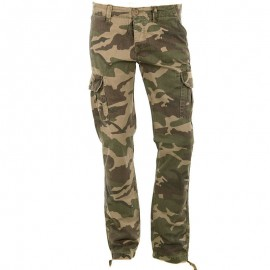 Pantalon Coton Fellow camouflage Homme Crossby