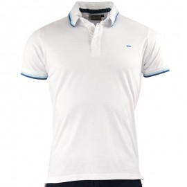 Polo Blanc Memo Homme Crossby