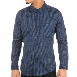 Chemise Bleu Doty Homme Crossby