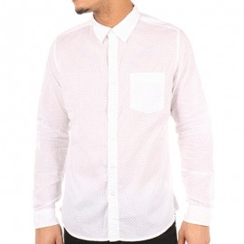 Chemise Blanc Doty Homme Crossby
