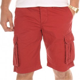 Bermuda CHICO bordeaux Homme Crossby