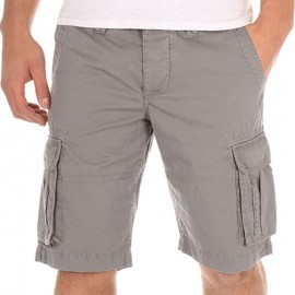 Bermuda CHICO gris Homme Crossby