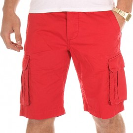 Bermuda CHICO rouge Homme Crossby
