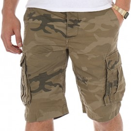 Bermuda TERMINAL camouflage Homme Crossby