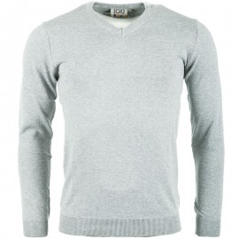 Pull Gris Twitt Homme Crossby