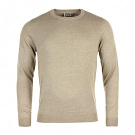 Pull Beige Slash Homme Crossby