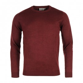 Pull Rouge Slash Homme Crossby
