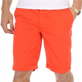 Bermuda chino TOMMY orange Homme Crossby