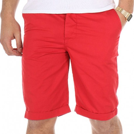 bermuda chino tommy rouge homme crossby shorts. Black Bedroom Furniture Sets. Home Design Ideas