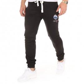 Pantalon molleton KELLAN noir Homme Crossby