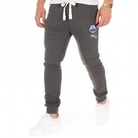 Pantalon molleton KELLAN gris foncé Homme Crossby