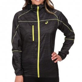 Veste Noir Fuji Packable Running/Trail Femme Asics