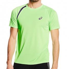 Tee Shirt Vert Performance Running Homme Asics