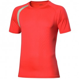 Tee Shirt Rouge Performance Running Homme Asics