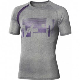 Tee Shirt Gris Performance Multi Graphic Running Homme Asics