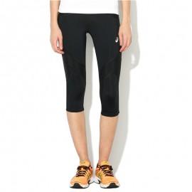 Pantacourt Legging Noir Balance Knee Tight Running Femme Asics