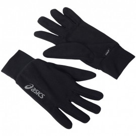 Gant Noir Fleece Gloves Running Homme Asics