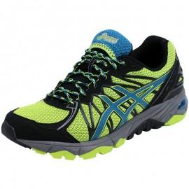 Chaussures Vert Gel Fuji Trabuco 3 Trail/Running Homme Asics