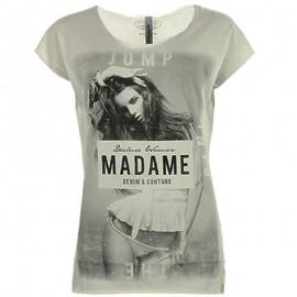 Tee-shirt Jumpy gris chiné Femme Deeluxe