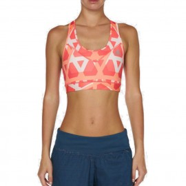 Brassière Triover rose Entrainement Femme Adidas