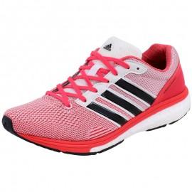 Chaussures Rose Adizero Boston Boost Running Femme Adidas