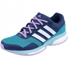 Chaussures Vert Response 2 Running Femme Adidas