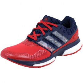 Chaussures Rouge Response 2 Techfit Running Homme Adidas