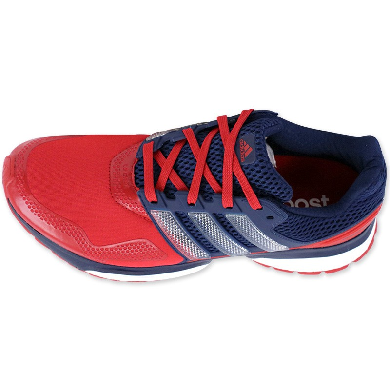 size 40 740f3 91d3d Response Running Chaussures Adidas Techfit Chaussur Homme 2 Rouge xp77w