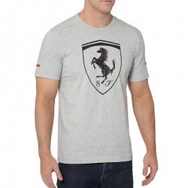 Tee-shirt Big Shield gris Ferrari Homme Puma