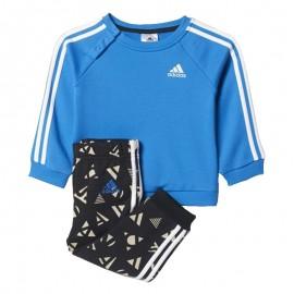 Survêtement Summer Jog bleu Bébé Garçon Adidas