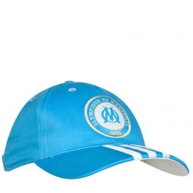 Casquette OM bleue Football Homme Adidas