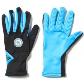 Gants UCL OM bleus Football Homme Adidas