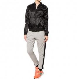 Survêtement satiné Youngwoven Entrainement noir Femme Adidas