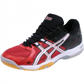 Chaussures Rouge Gel Rocket 6 Tennis Homme Asics