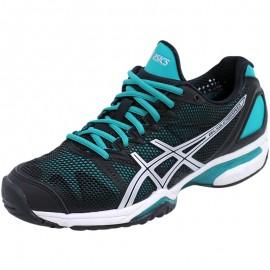 Chaussures Noir Gel Solution Speed Tennis Femme Asics