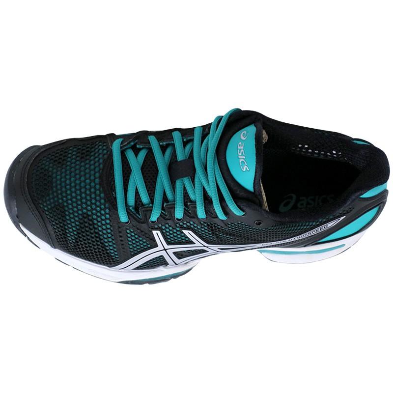 Chaussures Gel Tennis Femme Solution Speed Asics Noir rqFwxPUnrS