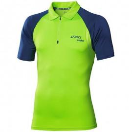 Polo Vert Bela Tennis Homme Asics