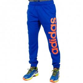 Pantalon Entrainement LIN PANT bleu Homme Adidas