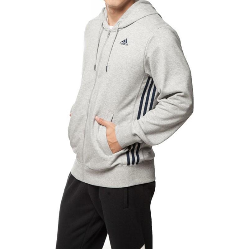 veste capuche sport essentials homme adidas sweats. Black Bedroom Furniture Sets. Home Design Ideas
