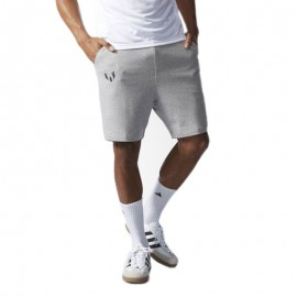 Short Football Messi gris Homme Adidas