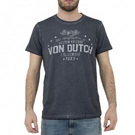 Tee shirt Stars gris Homme Von Dutch