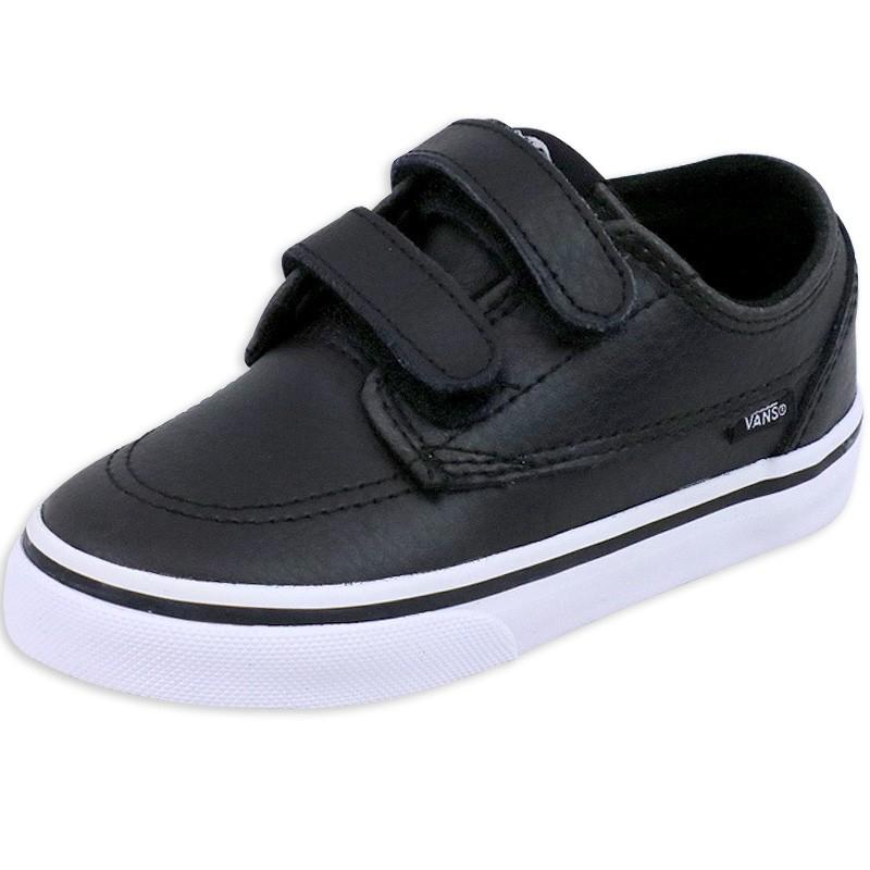 Chaussures Noir Toddlers Brigata V Garçon Vans. Loading zoom