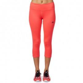 Collant 3/4 Basics Entrainement rose Femme Adidas