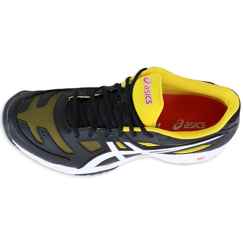 2 Chaussures Solution Noir Asics Gel Tennis Slam Homme 4rUrqwI