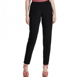 Pantalon fluide Epic noir Femme Jacqueline de Yong