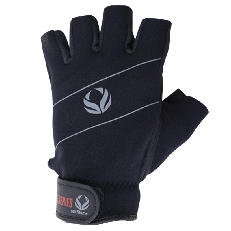 1 Paddle Noir 5mm Fingerless Homm Surfdome Glove Amara Gant Mitaine w8qxpt4wF
