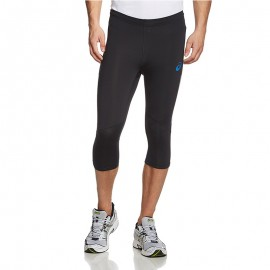 Pantacourt Legging Noir Adrenaline Kneetight Running Homme Asics