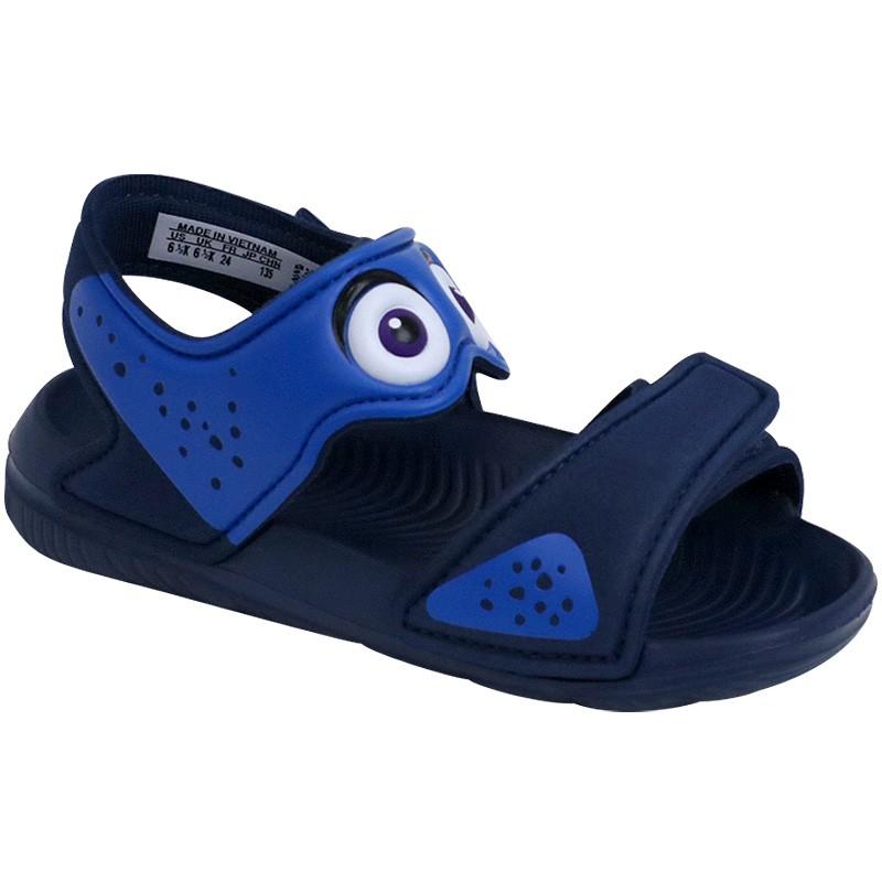 chaussures sandale bleu disney akwah 9 b b gar on adidas b b du. Black Bedroom Furniture Sets. Home Design Ideas